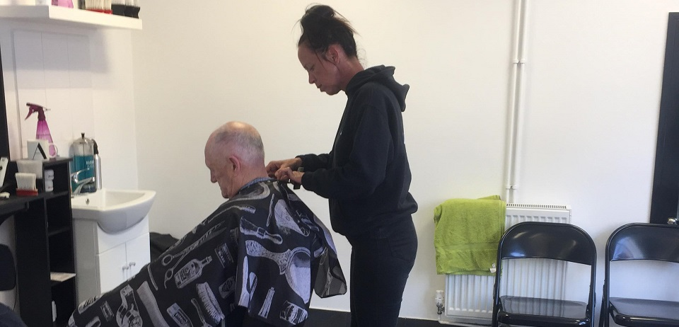 Child friendly unisex barbers